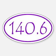 Purple Full Ironman Triathlon Distance 140.6 Miles