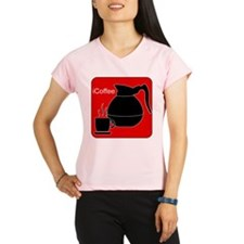 iCoffee Red Performance Dry T-Shirt