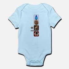 Coffee Formula Infant Bodysuit