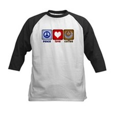 PeaceLoveCoffee-Sideways.PNG Tee