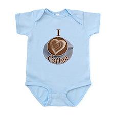 ILoveCoffeeCup.PNG Infant Bodysuit