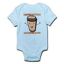 CoffeeSmiley Body Suit