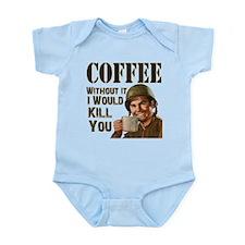 CoffeeKill.png Infant Bodysuit