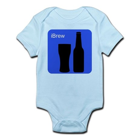 iBrewBlue.png Infant Bodysuit