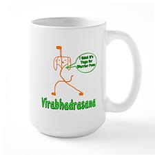 Yoga Dog Warrior Pose Mug