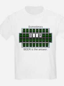 2-BeerAnswer T-Shirt
