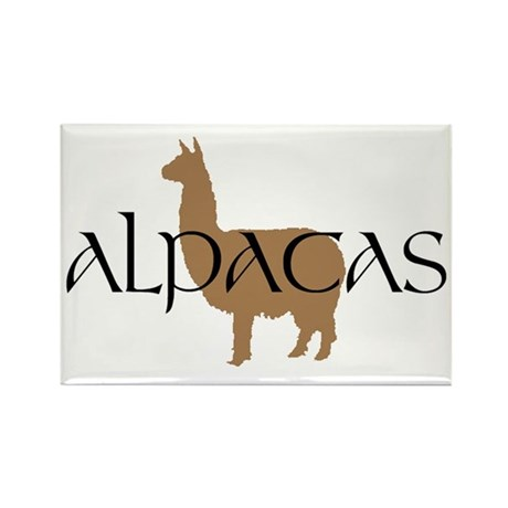 alpacas text Magnets