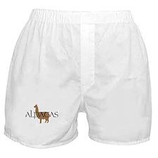 Unique Alpaca lover Boxer Shorts