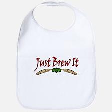 JustBrewIt-White Bib