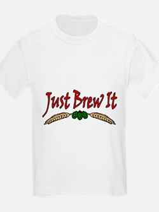 JustBrewIt-White T-Shirt