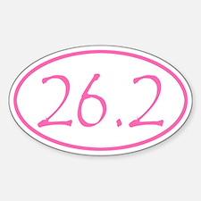 Pink Marathon Distance 26.2 Miles