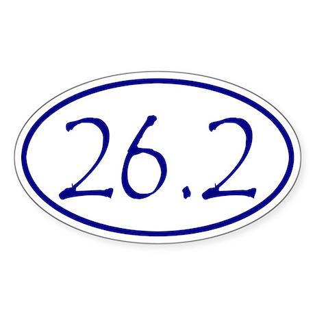 Navy Blue Marathon Distance 26.2 Miles