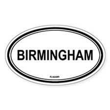 Birmingham (Alabama) Oval Decal