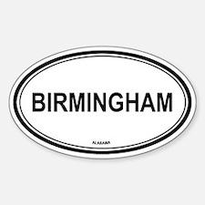 Birmingham (Alabama) Oval Decal