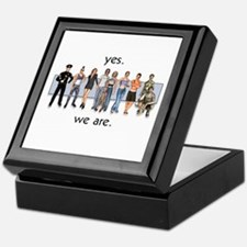 Yes. We Are. Gay/Lesbian Keepsake Box