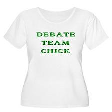 Debate Team Chick (Bold) T-Shirt