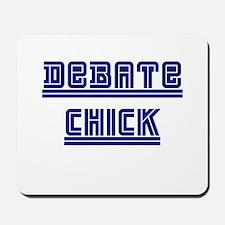 Debate Chick Mousepad