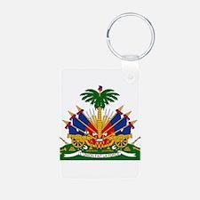 Haiti Coat Of Arms Keychains