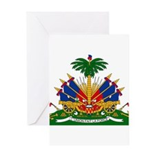 Haiti Coat Of Arms Greeting Card