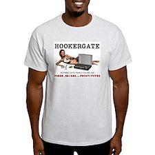 Hookergate Family Values Ash Grey T-Shirt