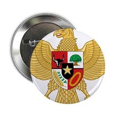 "Indonesia Coat Of Arms 2.25"" Button"