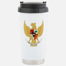 Indonesia Coat Of Arms Travel Mug