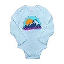 Dirty Dancing Kellerman's Long Sleeve Infant Bodys