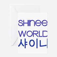 shineeworld Greeting Card