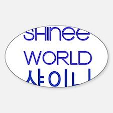 shineeworld Bumper Stickers