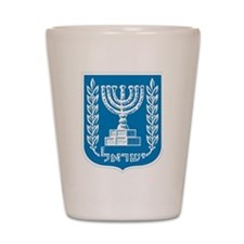 Israel Coat Of Arms Shot Glass