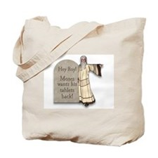 Moses Ten Commandments/ Roy Give them BACK! Tote B