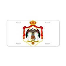Jordan Coat Of Arms Aluminum License Plate