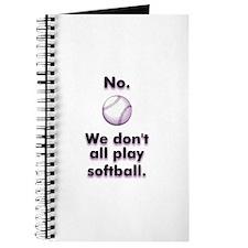 Lesbian Sports Softball Gear Journal