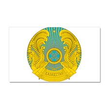 Kazakhstan Coat Of Arms Car Magnet 20 x 12