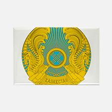 Kazakhstan Coat Of Arms Rectangle Magnet (100 pack