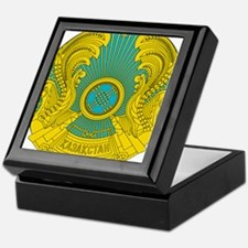 Kazakhstan Coat Of Arms Keepsake Box