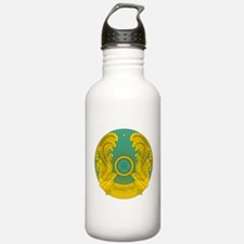 Kazakhstan Coat Of Arms Water Bottle