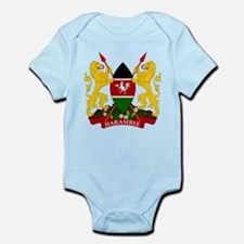 Kenya Coat Of Arms Infant Bodysuit
