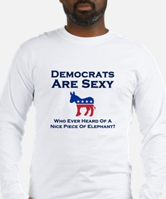 Democrats Are Sexy - Long Sleeve T-Shirt