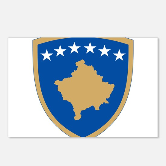 Kosovo Coat Of Arms Postcards (Package of 8)