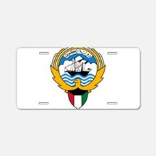 Kuwait Coat Of Arms Aluminum License Plate