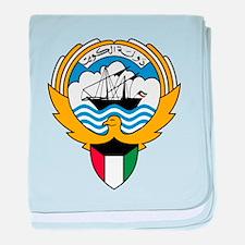 Kuwait Coat Of Arms baby blanket