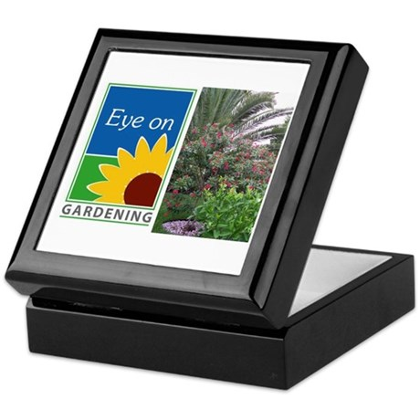 Eye on Gardening Tropical Plants Keepsake Box
