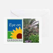 Eye on Gardening Tropical Plants Greeting Cards (P