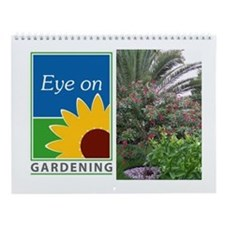 Eye on Gardening Tropical Plants Wall Calendar