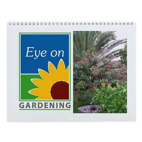 Eye on Gardening Tropical Plants Wall Calendar