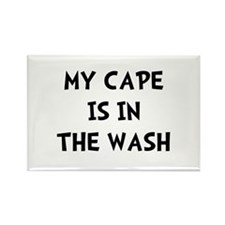Cape In Wash Black Rectangle Magnet (100 pack)