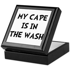 Cape In Wash Black Keepsake Box