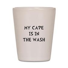 Cape In Wash Black Shot Glass