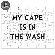 Cape In Wash Black Puzzle